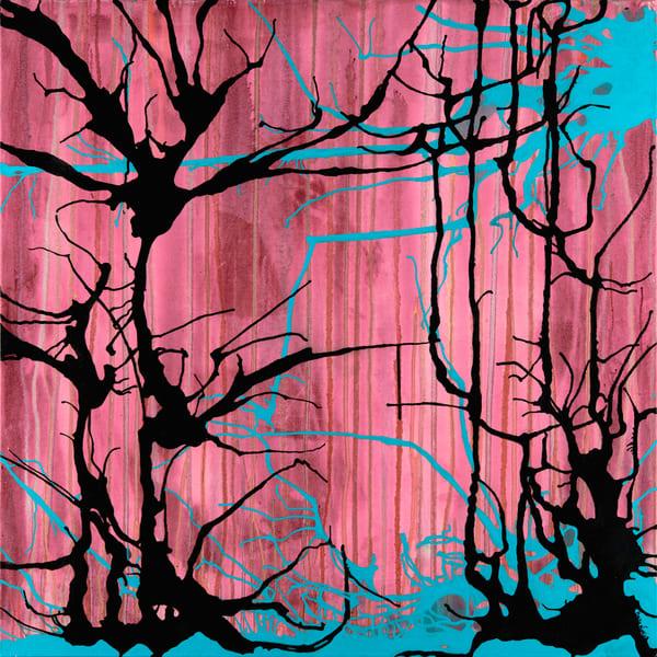 Pink Trees Art | Becka Watkins Art