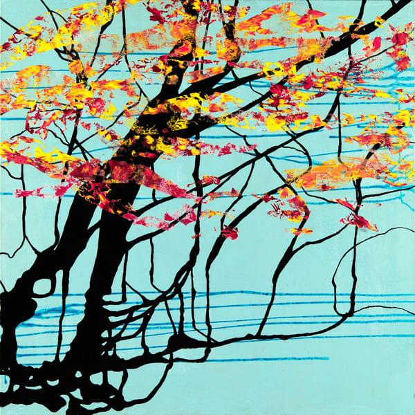 Fire Trees Art | Becka Watkins Art
