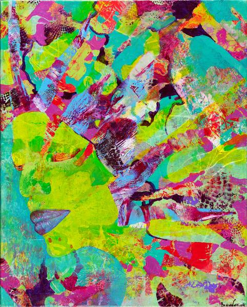 Hendrix Girlfriend Art | Becka Watkins Art