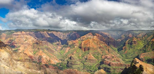 Waimea Canyon View Photography Art | Inspiring Images