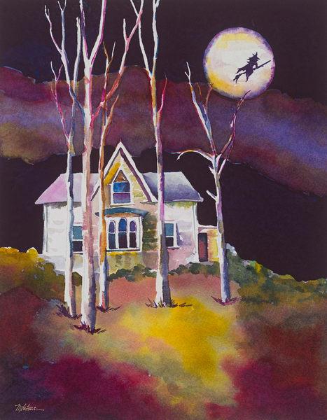 O' Hallowed Night  Art | Mickey La Fave