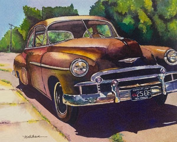 Classic Chevy   Art | Mickey La Fave