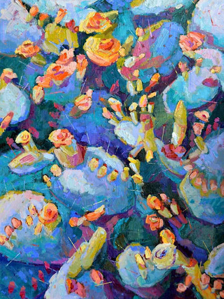 Nocturnal Blooms by Sharon Hodges | Madaras Gallery | Tucson Art