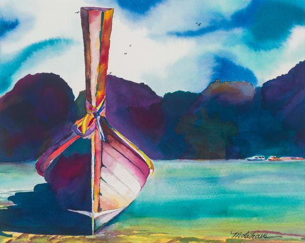 Wedding Boat  Art | Mickey La Fave