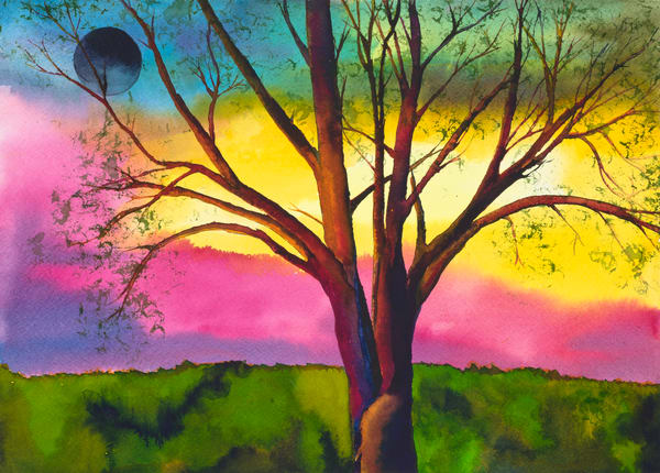 Lone Tree  Art | Mickey La Fave
