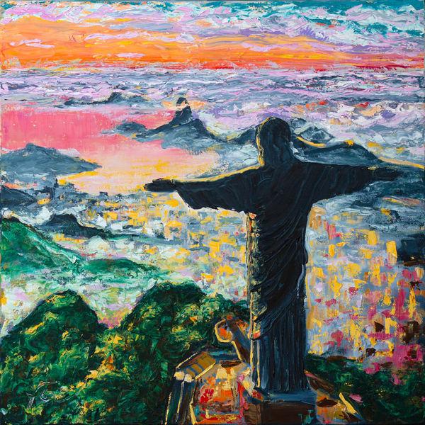 Rio de Janeiro, Christ the Redeemer Art Print