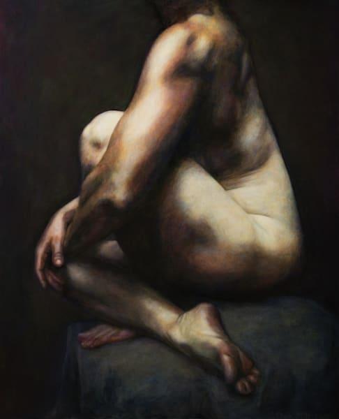 Pyramid (Original Oil Painting On Panel) Art | Jeffrey Harrison Multi-Media Artist
