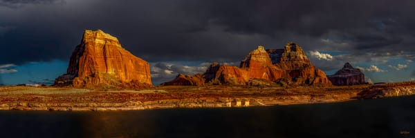 Lake Powell Evening Storm