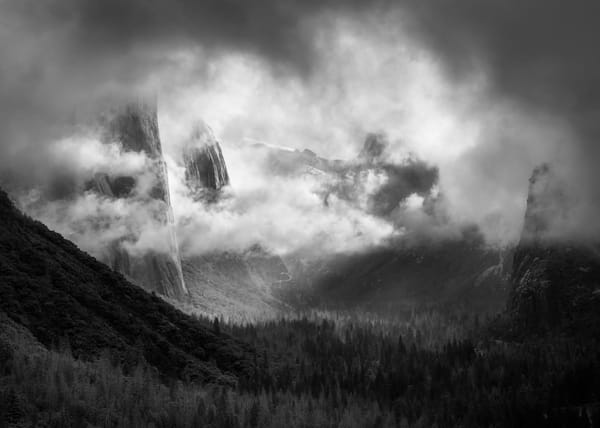 Black Yosemite, Honorable Mention by Charlotte Gibb