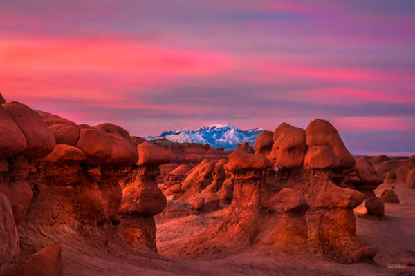 Blue Hour-Goblin Valley