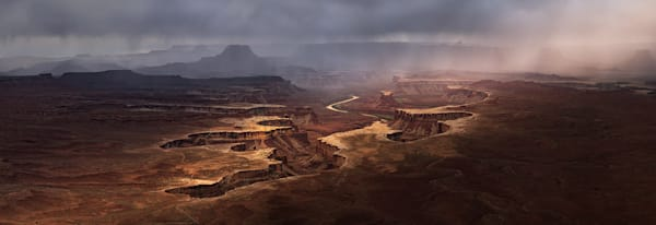 Canyonlands Storm, Moab Utah | Award-Winning 2018 Epson Pano
