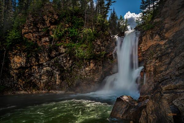 Trick Falls-Glacier National Park
