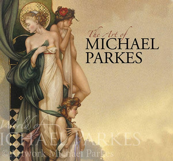 Book   Art Of Michael Parkes | evoartmaui
