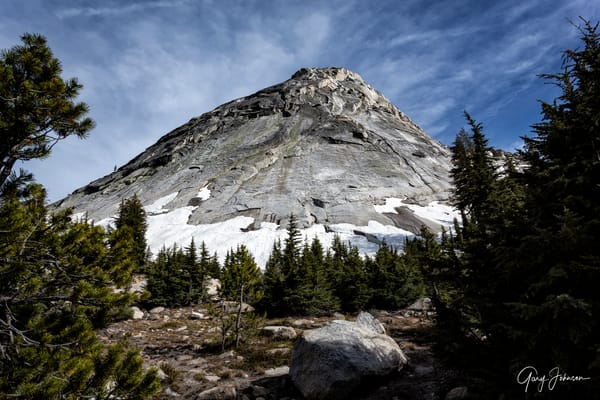 Cathedral Lakes Dome Photography Art | Gary Johnson Photography