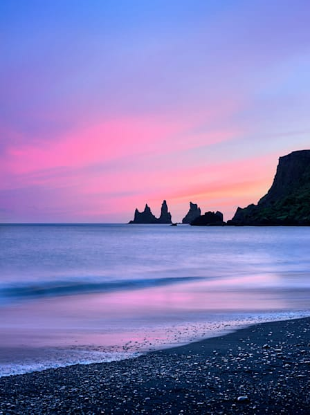 Iceland Sunset Photography Art | David Beavis Fine Art