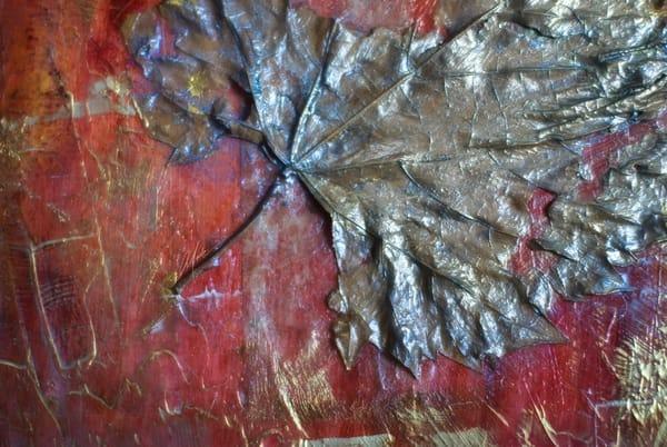 Golden Leaf 2 Art | Studio Malia
