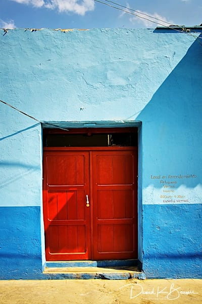The Red Door Photography Art | David Beavis Fine Art