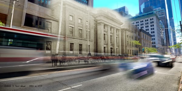 Past Present - Adelaide Court House