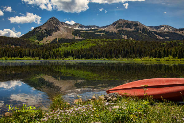 Lost Lakes Mountain Reflection 6548 Photograph | Colorado Photography |  Koral Martin Fine Art Photography