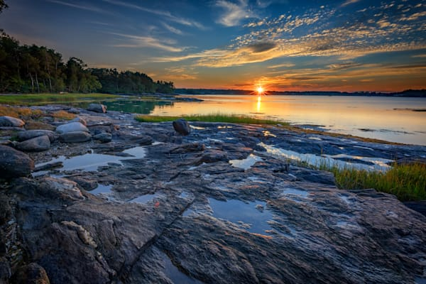 Littlejohn Island Sunset | Shop Photography by Rick Berk