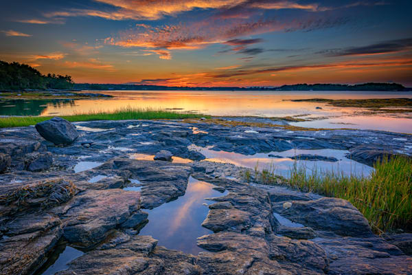 Dusk on Littlejohn Island | Shop Photography by Rick Berk