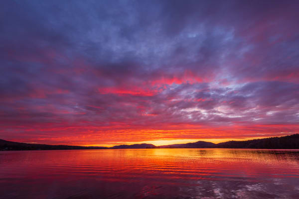 4th Lake Sunset  Photography Art | Kurt Gardner Photogarphy Gallery