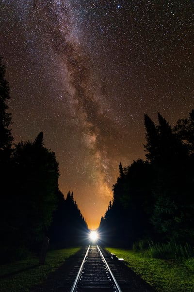 Milky Way Rail Rd Photography Art | Kurt Gardner Photogarphy Gallery