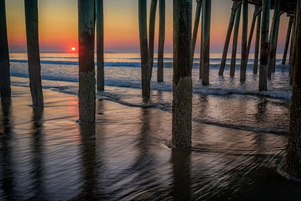 Sunrise Under The Pier | Shop Photography by Rick Berk