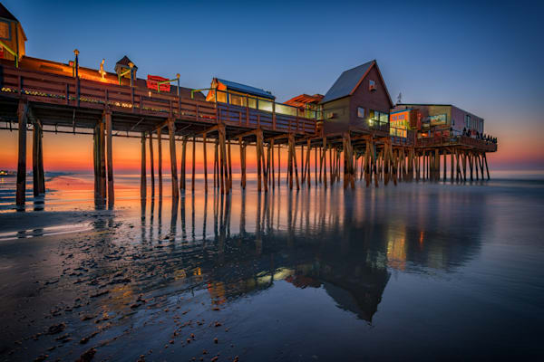 Dawn on Old Orchard Beach | Shop Photography by Rick Berk