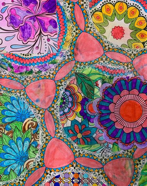 60s Flower Power Art | Marci Brockmann Author & Artist