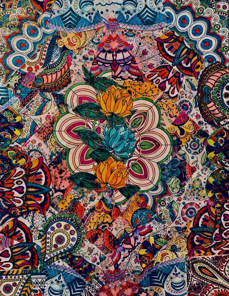 Floral Mosaic Art | Marci Brockmann Author & Artist