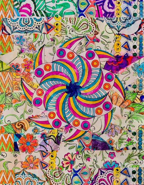 Pinwheel Mosaic Art   Marci Brockmann Author & Artist