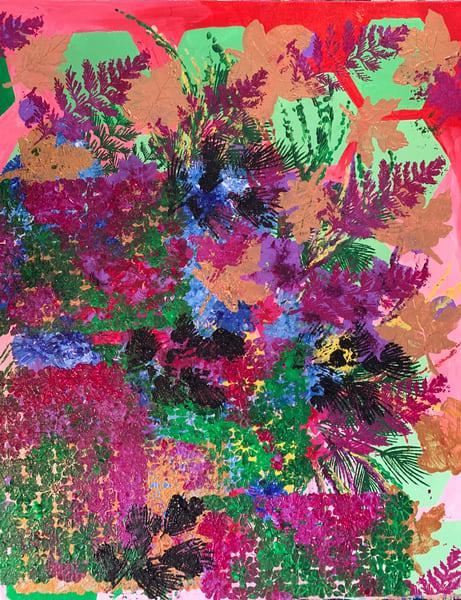 Riotous Flowers  Art | Marci Brockmann Author & Artist