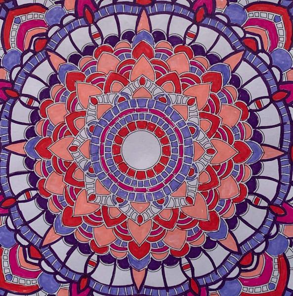 Valentine Mandala Art | Marci Brockmann Author & Artist