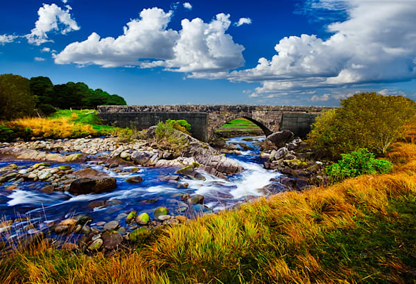 Connemara Wilderness 1 - Art of Ireland Print by Christopher Gatelock