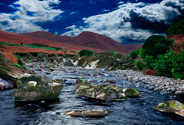 Connemara Wilderness 2 - Art of Ireland Print by Christopher Gatelock