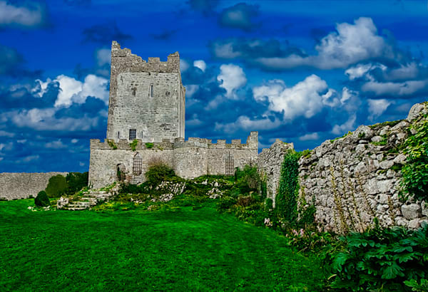 Clonony Castle - Art of Ireland Print by Christopher Gatelock