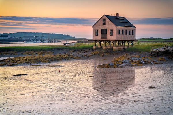 The Fishing Shack at Low Tide | Shop Photography by Rick Berk