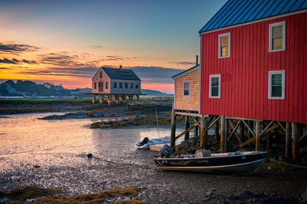 Low Tide in Kennebunkport | Shop Photography by Rick Berk