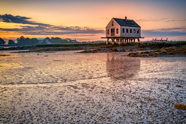 Sunrise at the Fishing Shack | Shop Photography by Rick Berk