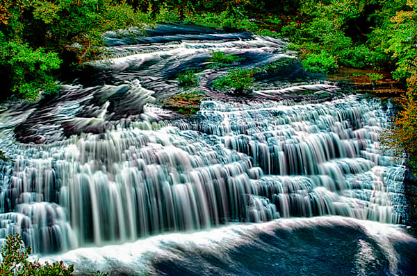 Burgess Falls 3 - Art of Tennessee Print By Christopher Gatelock