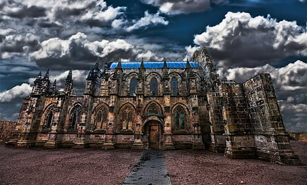 Rosslyn Chapel - Art of Scotland Print By Christopher Gatelock