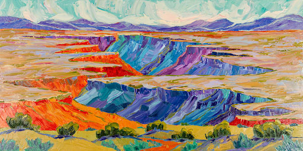 Journey Through The Rio Grande Art | Fine Art New Mexico