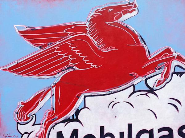 Mobilgas Pegasus Art | samvance