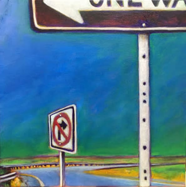 No Right Turn Art | samvance