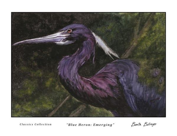 011 Blue Heron   Emerging Art | Blissful Bonita Art Studio & Gallery