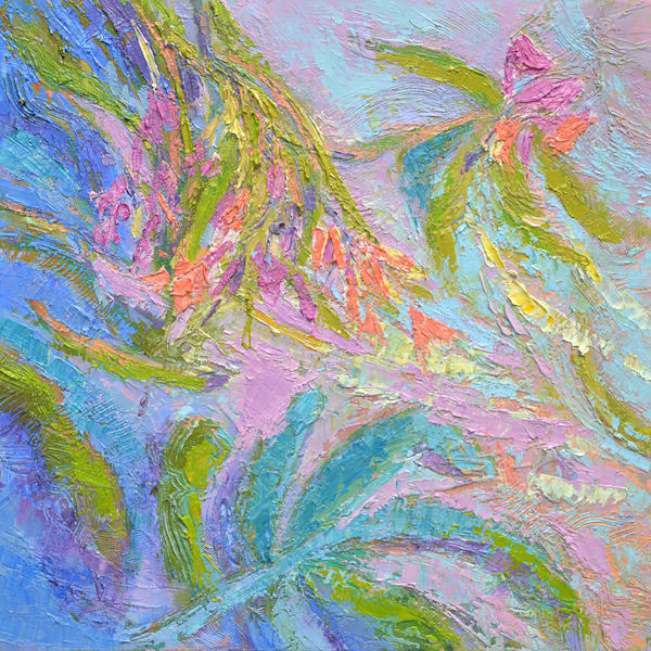 Fern Original Oil Painting by Dorothy Fagan
