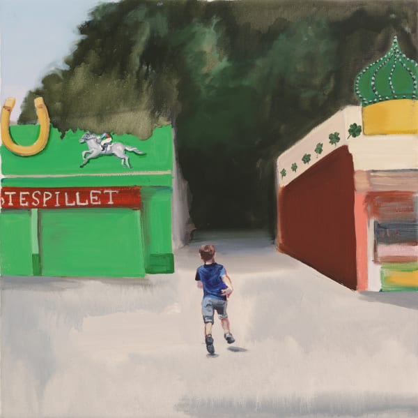 Hestespillet / The Horse Game  Art | Trine Churchill