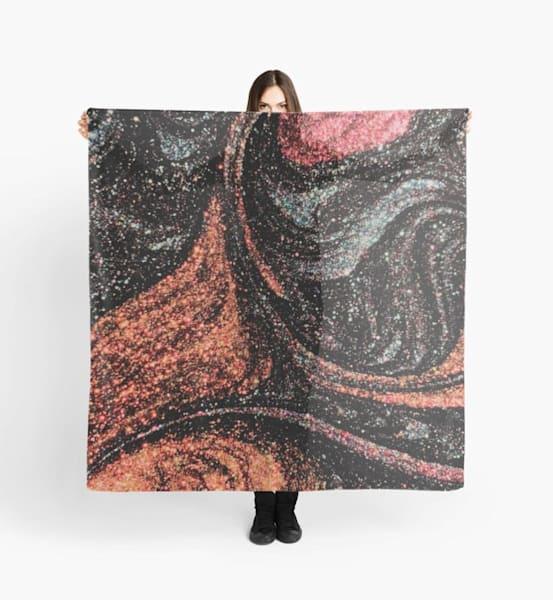 Starry Swirl Scarf | Marci Brockmann Author, Artist, Podcaster & Educator