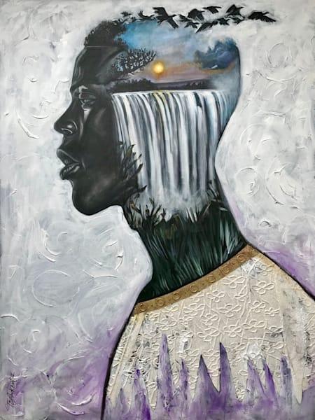 The Overflow (Sold) Art | thomaselockhart